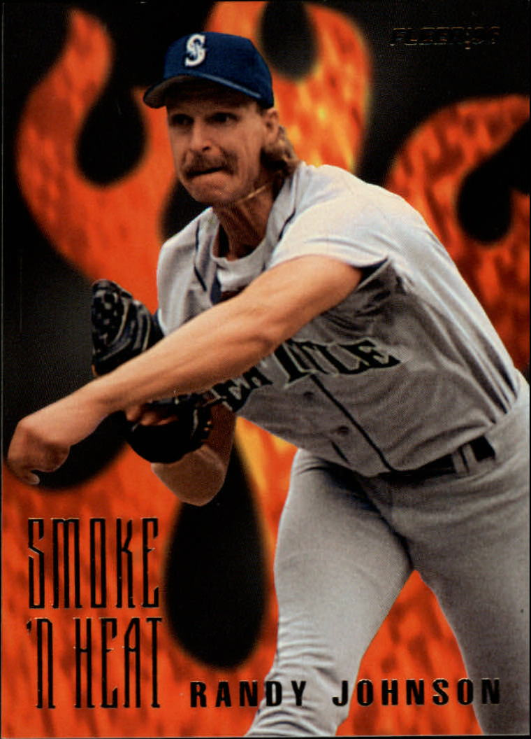1996 Fleer Smoke 'n Heat #5 Randy Johnson