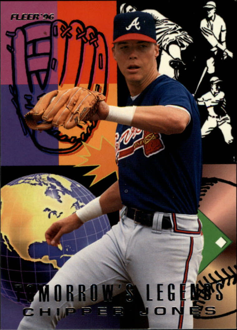 1996 Fleer Tomorrow's Legends #6 Chipper Jones