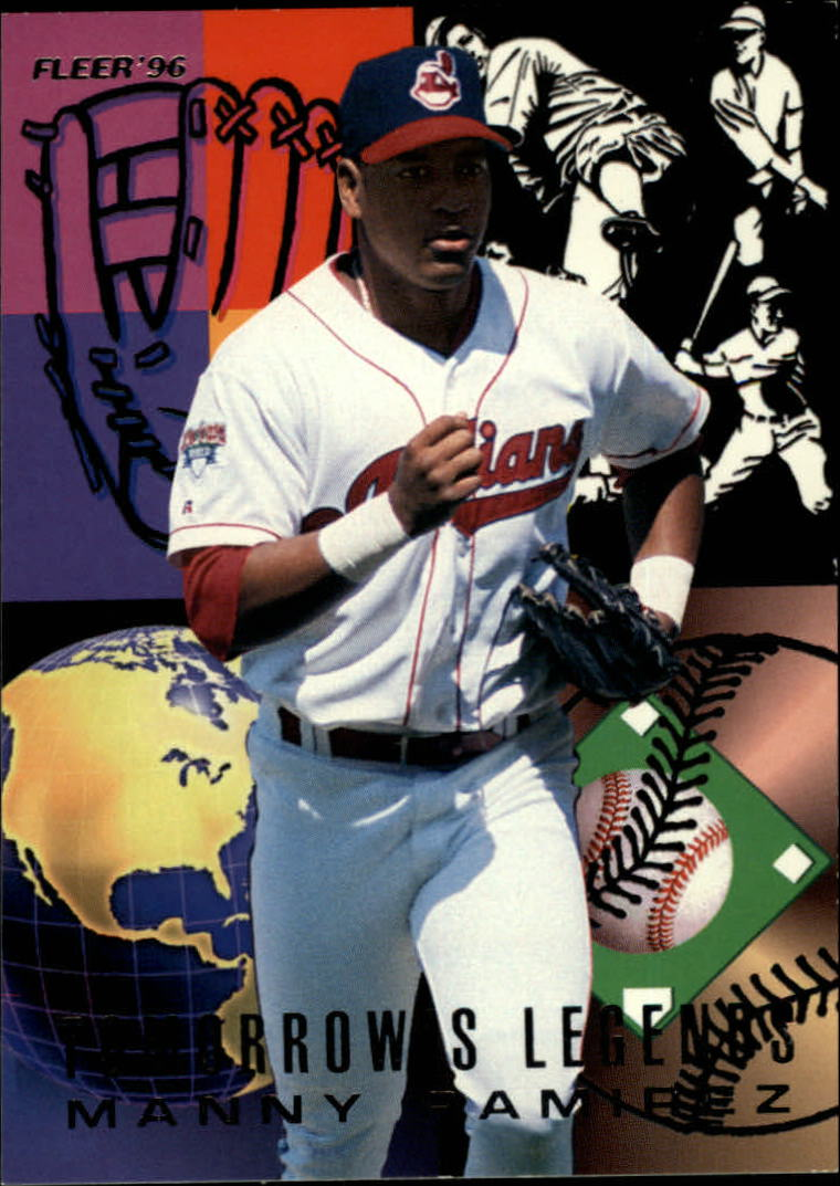 1996 Fleer Tomorrow's Legends #9 Manny Ramirez