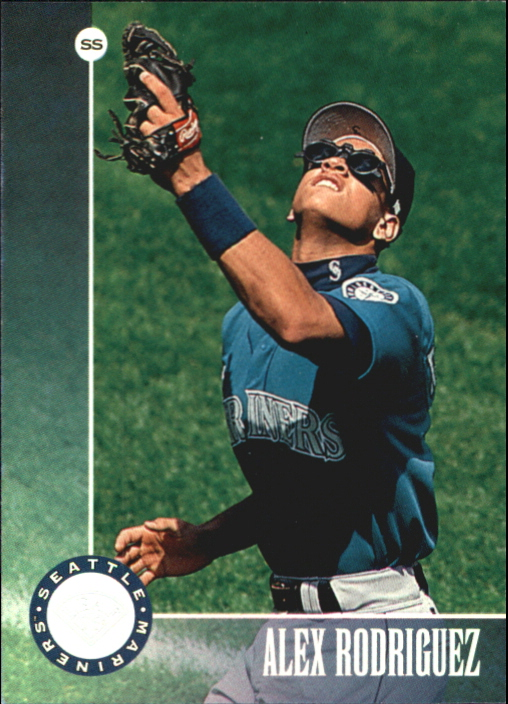 1996 Leaf Silver Press Proofs #24 Alex Rodriguez