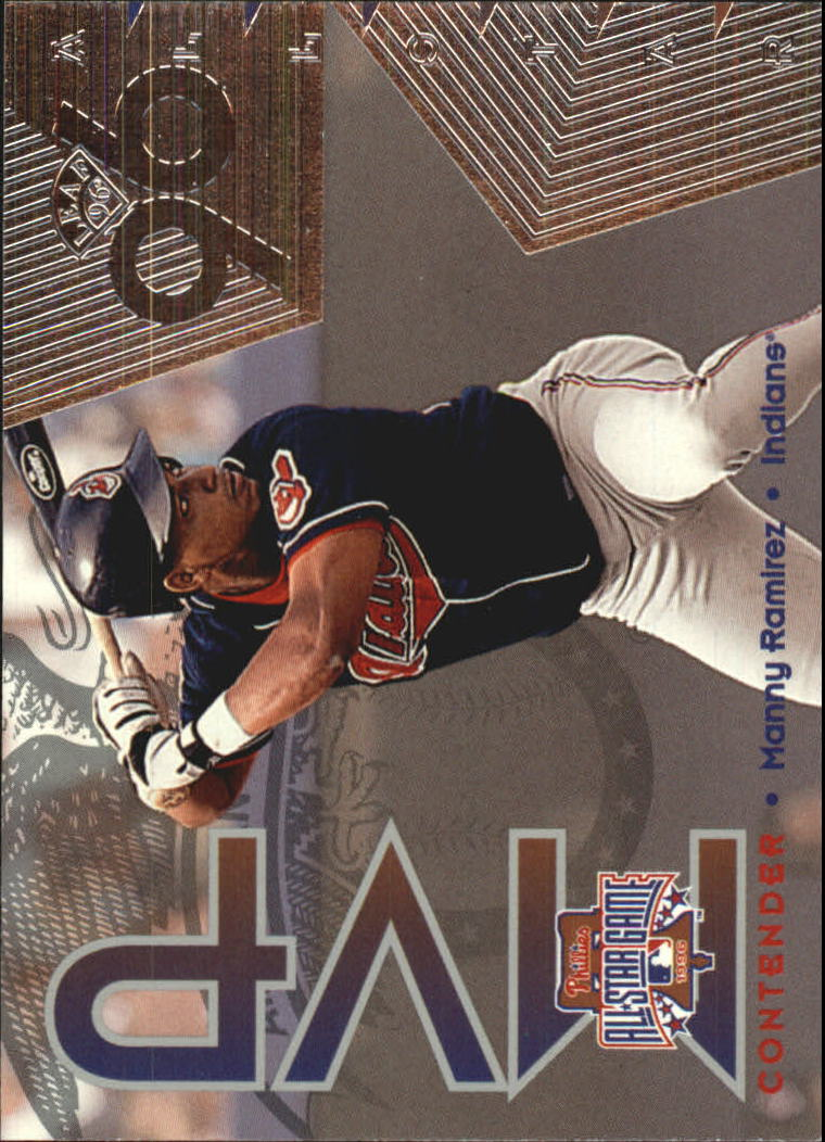 1996 Leaf All-Star Game MVP Contenders #13 Manny Ramirez