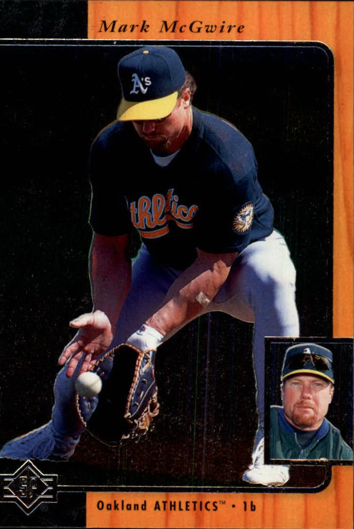 1996 SP #140 Mark McGwire