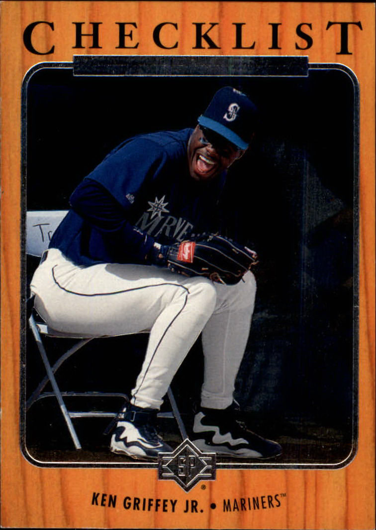 1996 SP #188 Ken Griffey Jr. CL