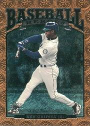 1996 SP Baseball Heroes #90 Ken Griffey Jr.
