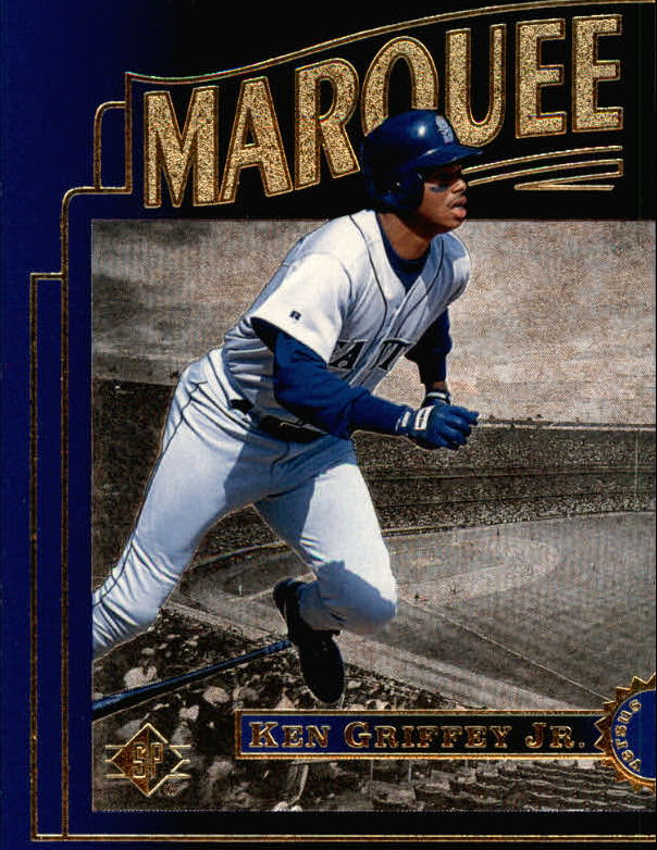 1996 SP Marquee Matchups #MM1 Ken Griffey Jr.