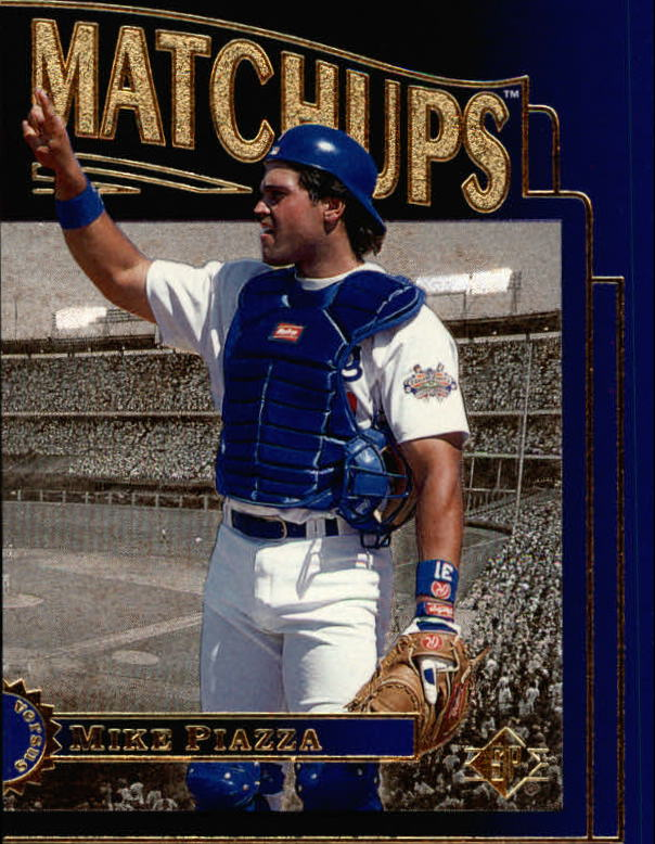 1996 SP Marquee Matchups #MM6 Mike Piazza