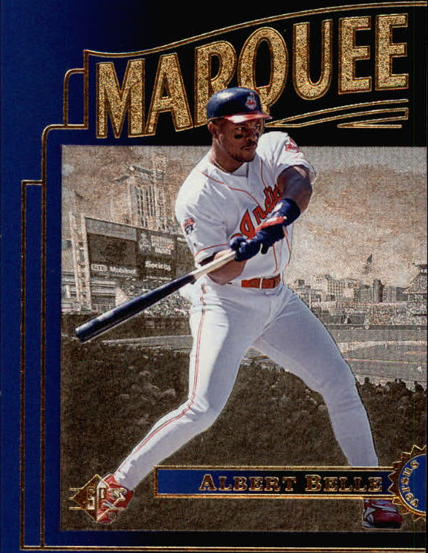 1996 SP Marquee Matchups #MM11 Albert Belle