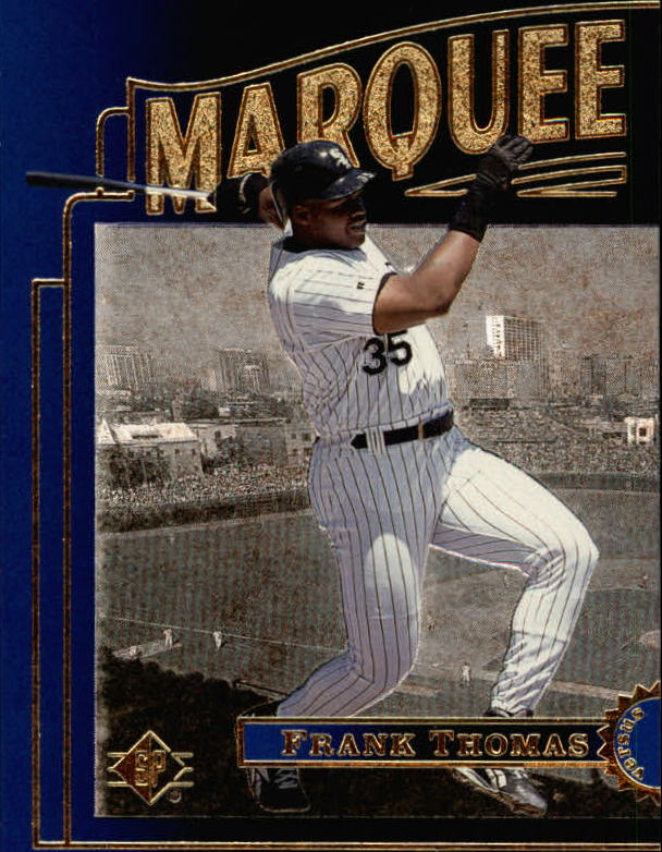 1996 SP Marquee Matchups #MM15 Frank Thomas