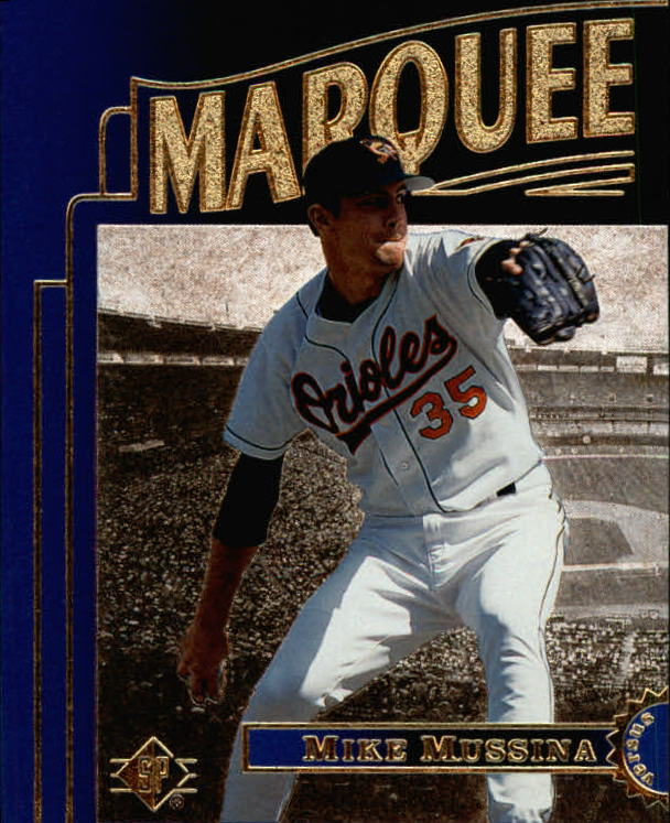 1996 SP Marquee Matchups #MM17 Mike Mussina