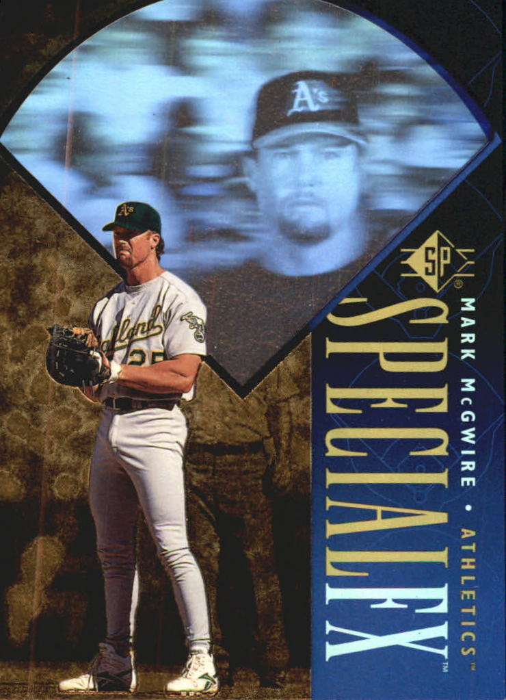 1996 SP Special FX #27 Mark McGwire