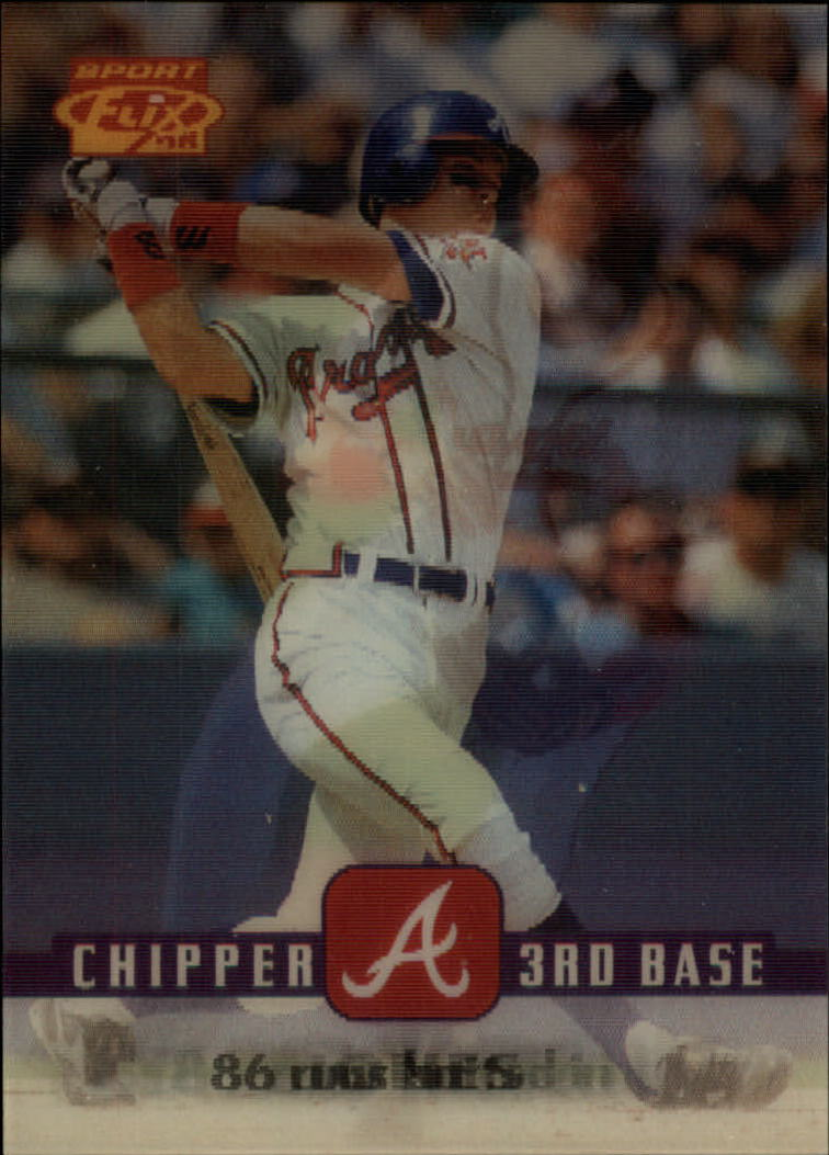 1996 Sportflix #19 Chipper Jones