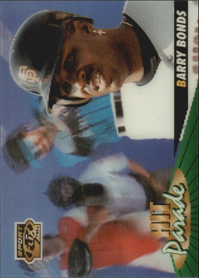 1996 Sportflix Hit Parade #16 Barry Bonds