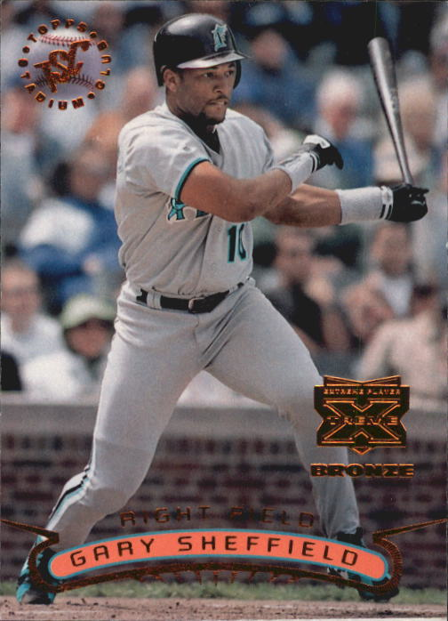 1996 Stadium Club Extreme Players Bronze #400 Gary Sheffield W