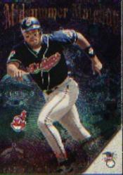 1996 Stadium Club Midsummer Matchups #M7 B.Bonds/A.Belle back image