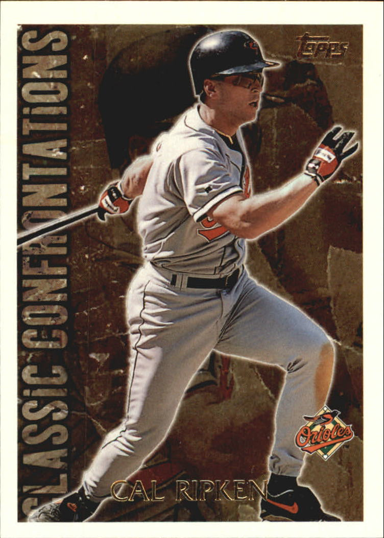 1996 Topps Classic Confrontations #CC2 Cal Ripken
