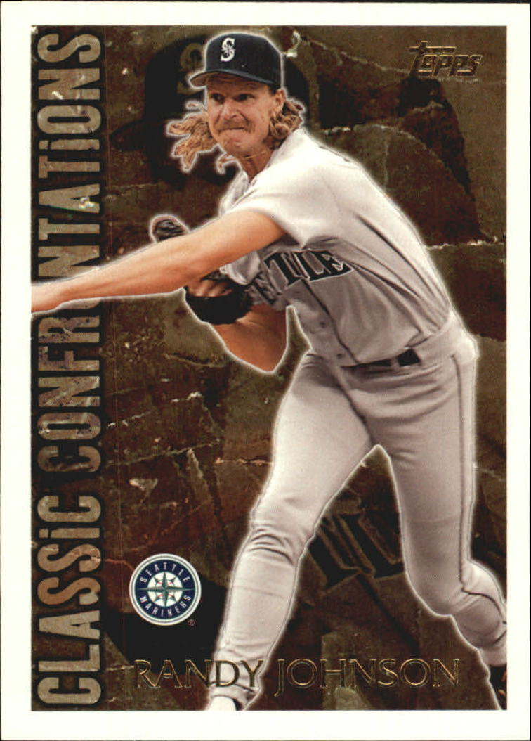 1996 Topps Classic Confrontations #CC11 Randy Johnson