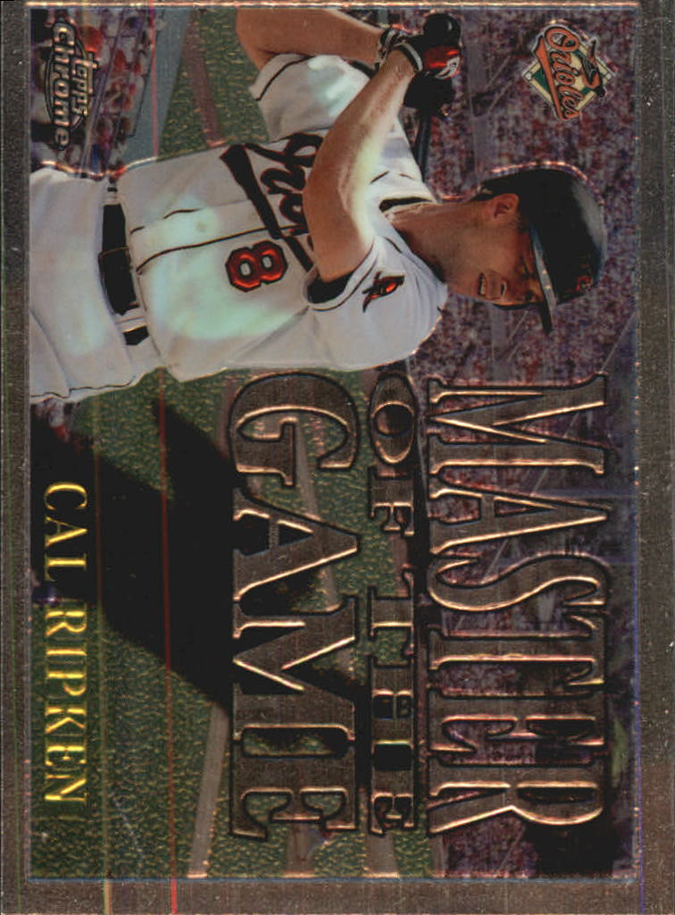 1996 Topps Chrome Masters of the Game #9 Cal Ripken