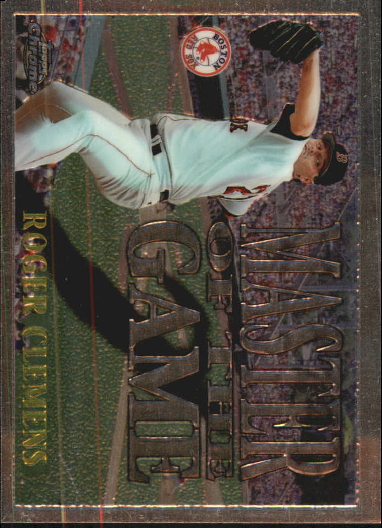 1996 Topps Chrome Masters of the Game #17 Roger Clemens