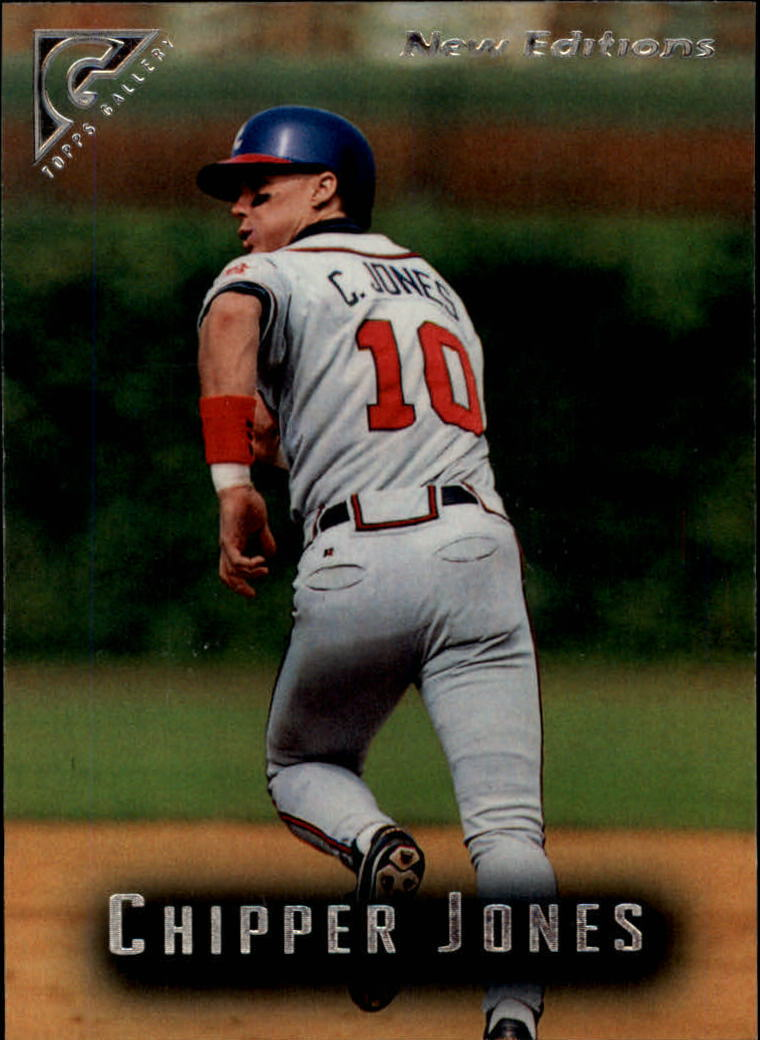 1996 Topps Gallery #100 Chipper Jones