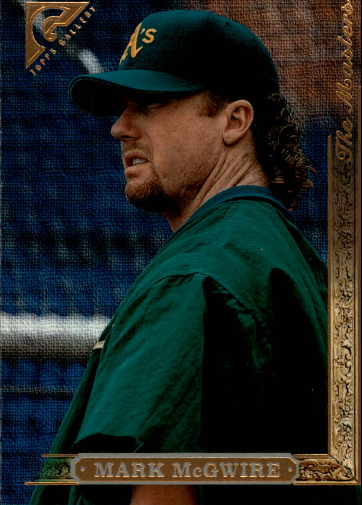 1996 Topps Gallery #155 Mark McGwire