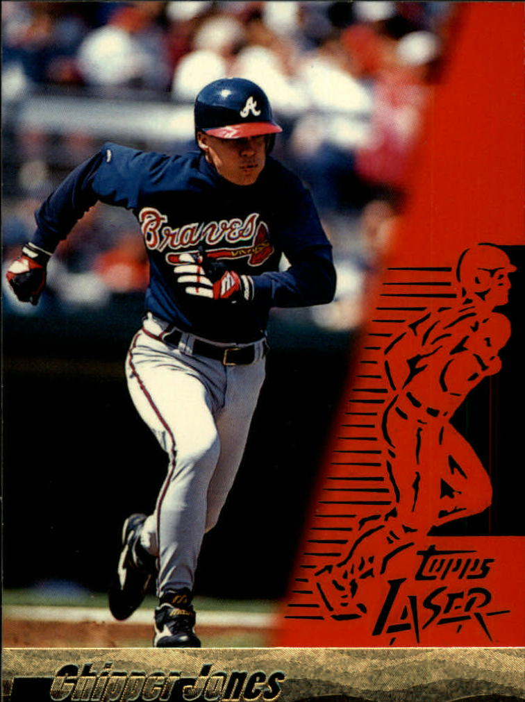 1996 Topps Laser #45 Chipper Jones