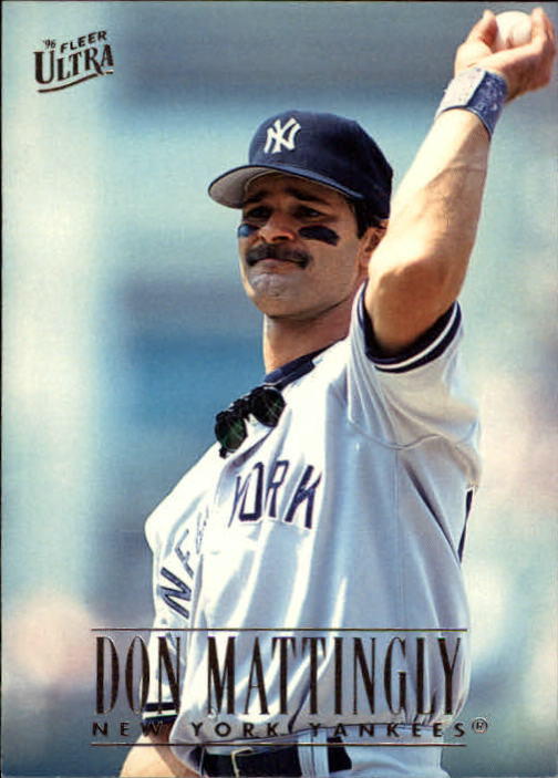 1996 Ultra #101 Don Mattingly