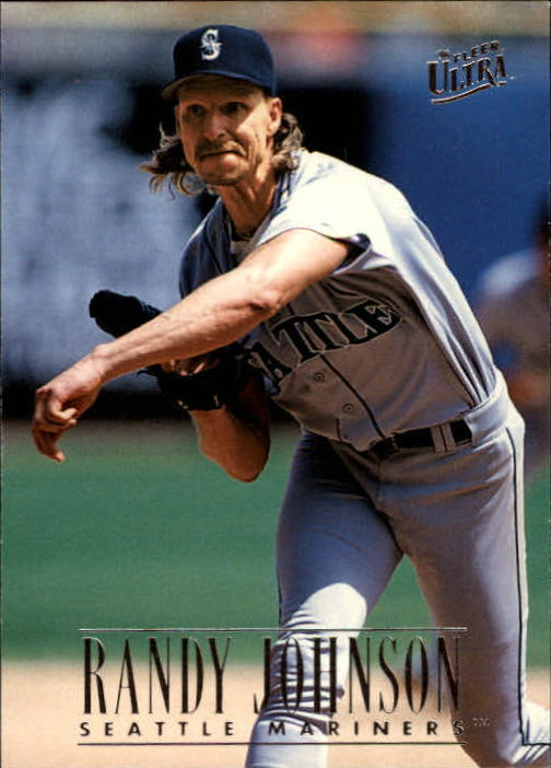 1996 Ultra #127 Randy Johnson