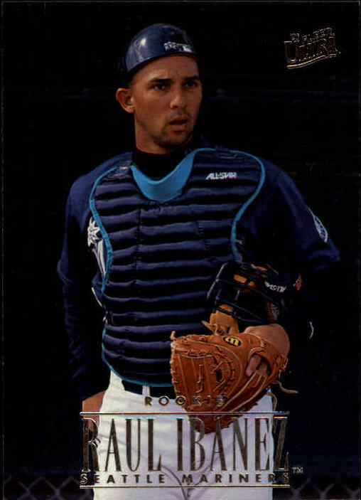 1996 Ultra #413 Raul Ibanez RC