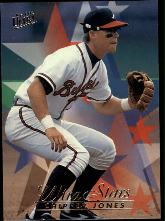 1996 Ultra #582 Chipper Jones STA