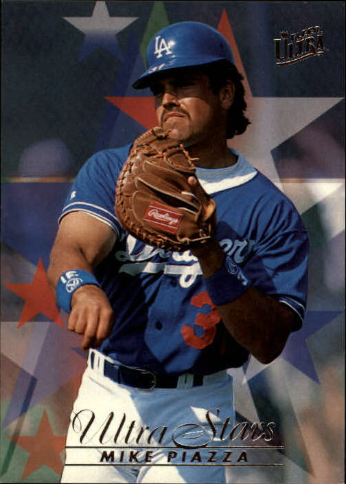 1996 Ultra #587 Mike Piazza STA