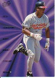 1996 Ultra Fresh Foundations #9 Manny Ramirez