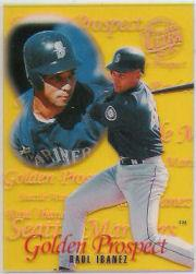 1996 Ultra Golden Prospects Hobby Gold Medallion #9 Raul Ibanez