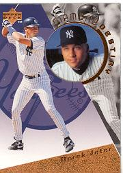 1996 Upper Deck Diamond Destiny #DD28 Derek Jeter