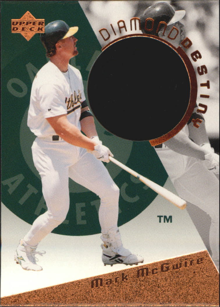 1996 Upper Deck Diamond Destiny #DD30 Mark McGwire