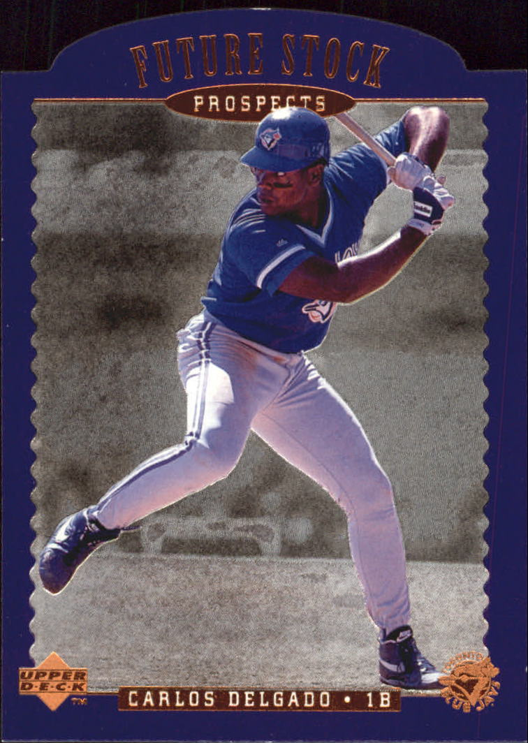 1996 Upper Deck Future Stock Prospects #FS8 Carlos Delgado