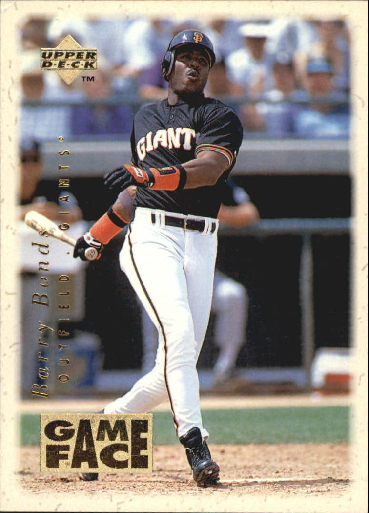 1996 Upper Deck Gameface #GF3 Barry Bonds