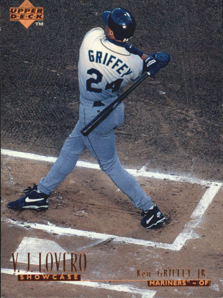 1996 Upper Deck V.J. Lovero Showcase #VJ10 Ken Griffey Jr.