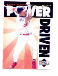 1996 Upper Deck Power Driven #PD13 Manny Ramirez