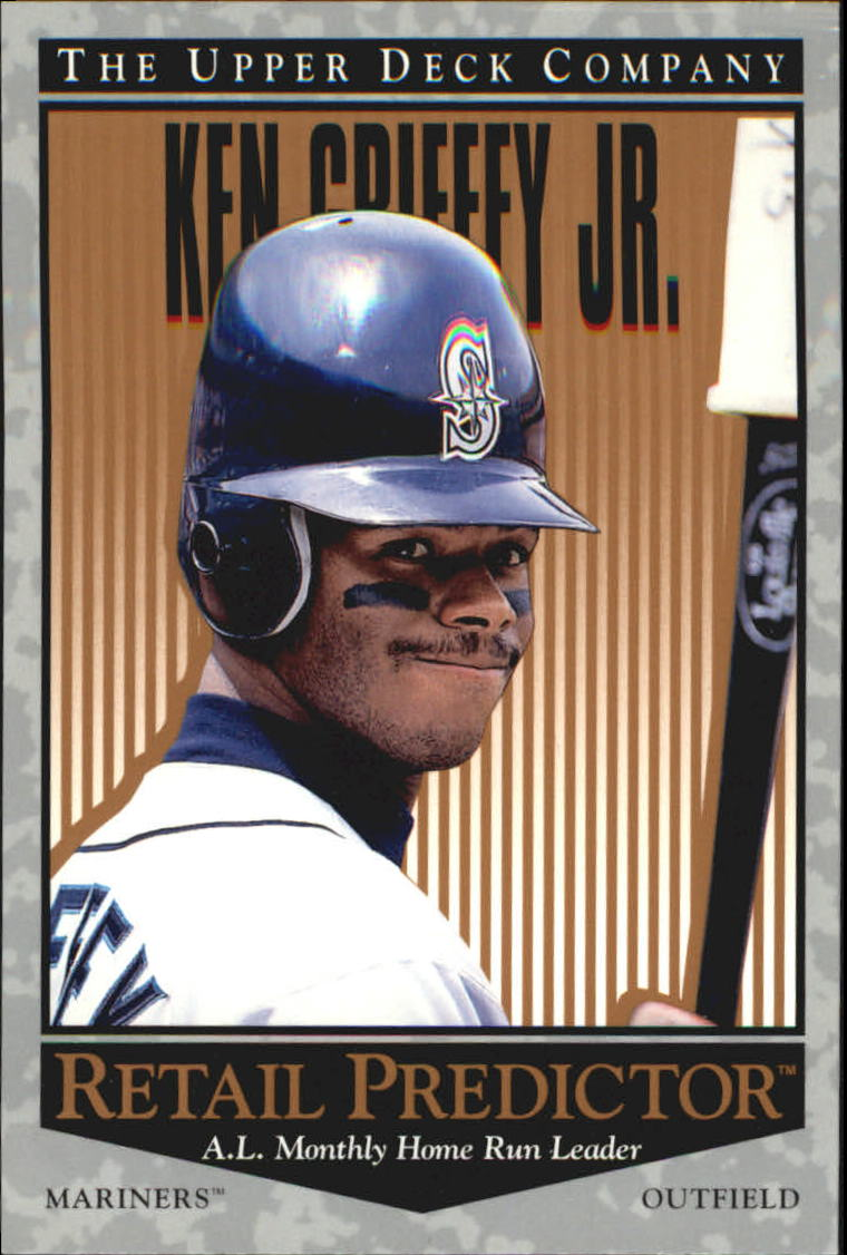 1996 Upper Deck Predictor Retail #R4 Ken Griffey Jr.