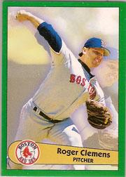 1996 Panini Stickers #136 Roger Clemens