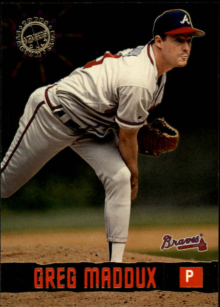 1996 Stadium Club Members Only 50 #22 Greg Maddux