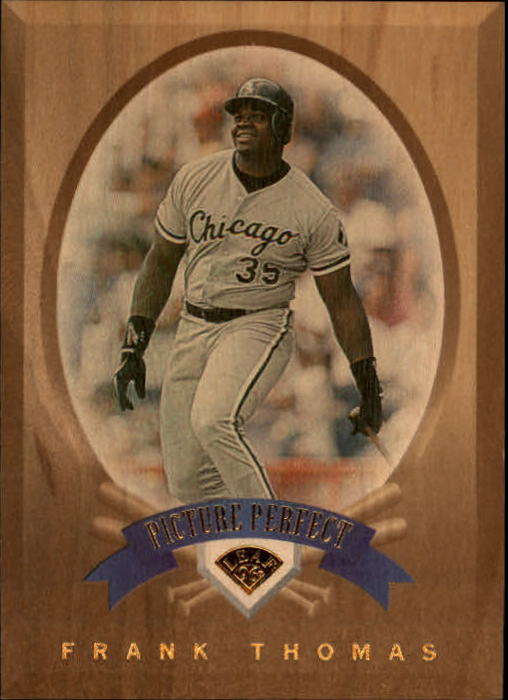 1996 Leaf Picture Perfect #1 Frank Thomas