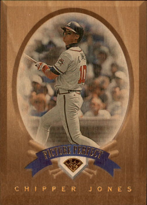 1996 Leaf Picture Perfect #5 Chipper Jones