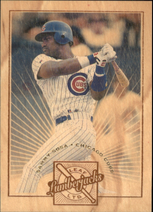 1996 Leaf Limited Lumberjacks #2 Sammy Sosa