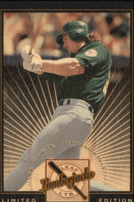 1996 Leaf Limited Lumberjacks Black #10 Mark McGwire front image