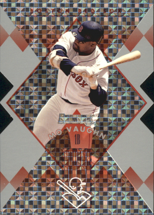 1996 Donruss Power Alley Die Cuts #7 Mo Vaughn