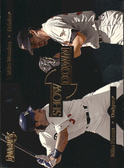 1996 Donruss Showdown #5 M.Piazza/M.Mussina