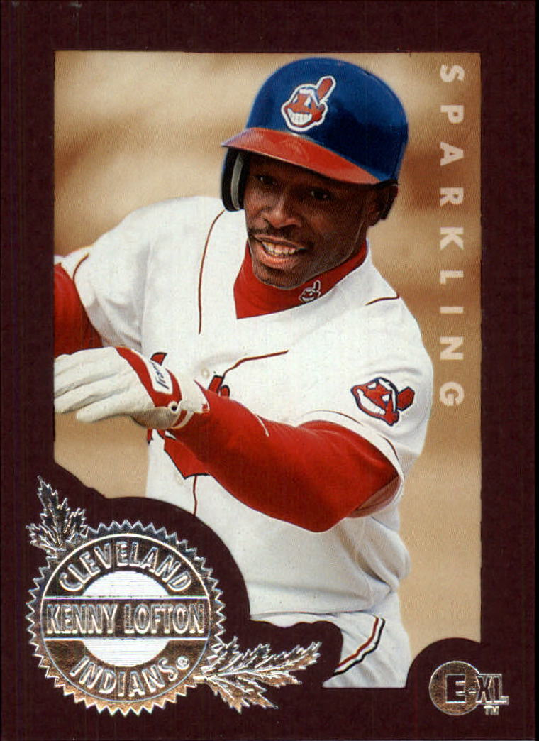 1996 Emotion-XL #49 Kenny Lofton