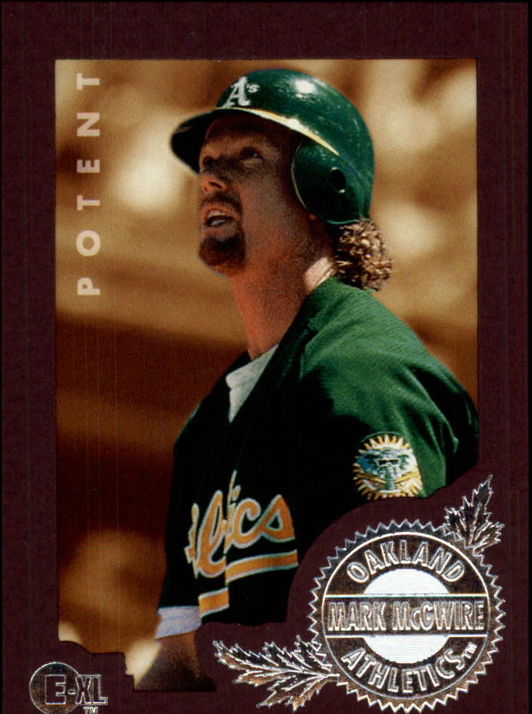1996 Emotion-XL #104 Mark McGwire
