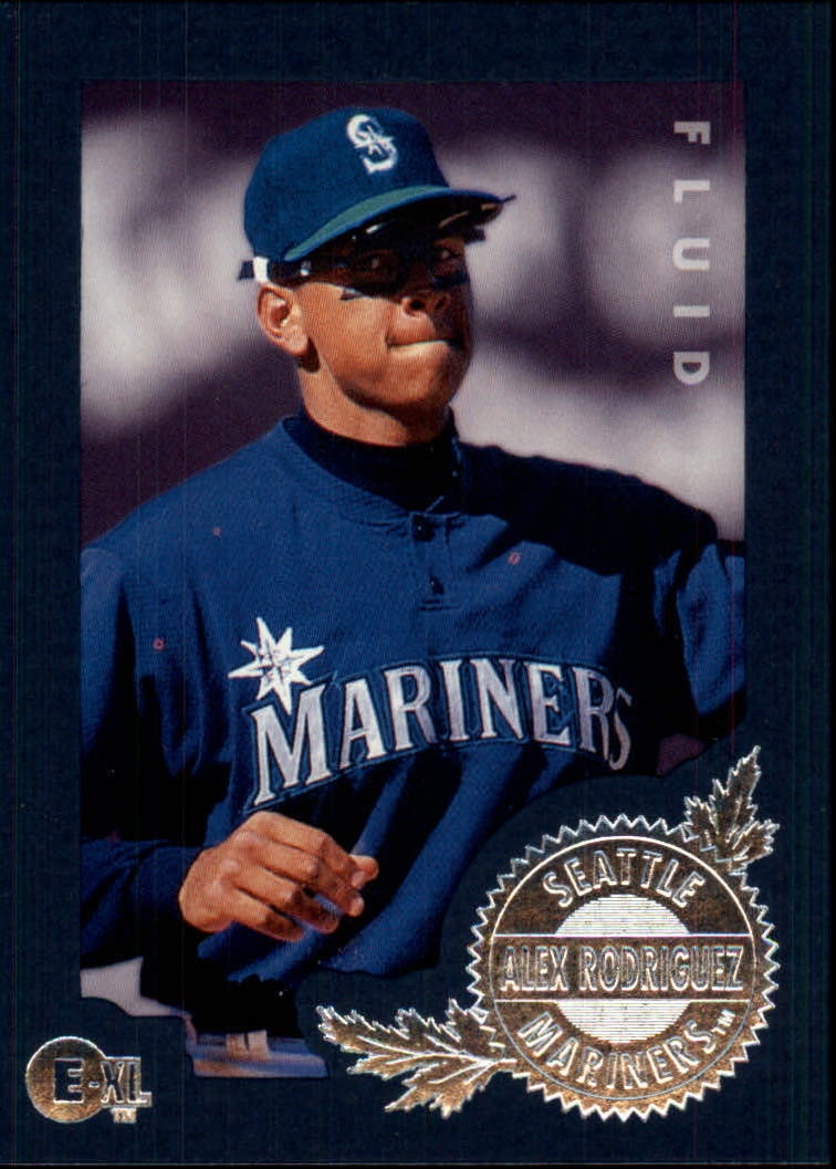 1996 Emotion-XL #117 Alex Rodriguez
